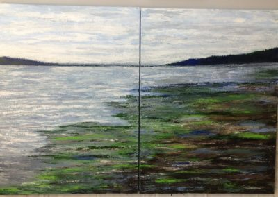"""The Pugeot Sound 2 30""""x40"""" acrylic gallery wrapped canvas"""