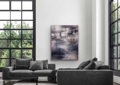 "Abstract 4 Acryllic Mixed Media on canvas 48""x60"""