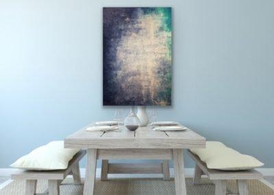 "Abstract 1 Acryllic Mixed Media on canvas 30""x40"""